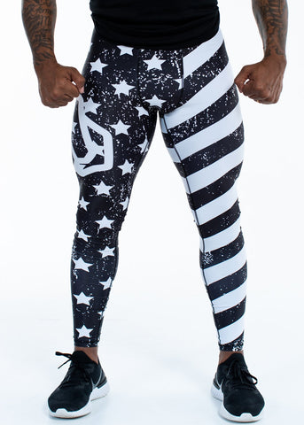 Feed Me Fight Me Men's American Gangster Compressions - 9 for 9