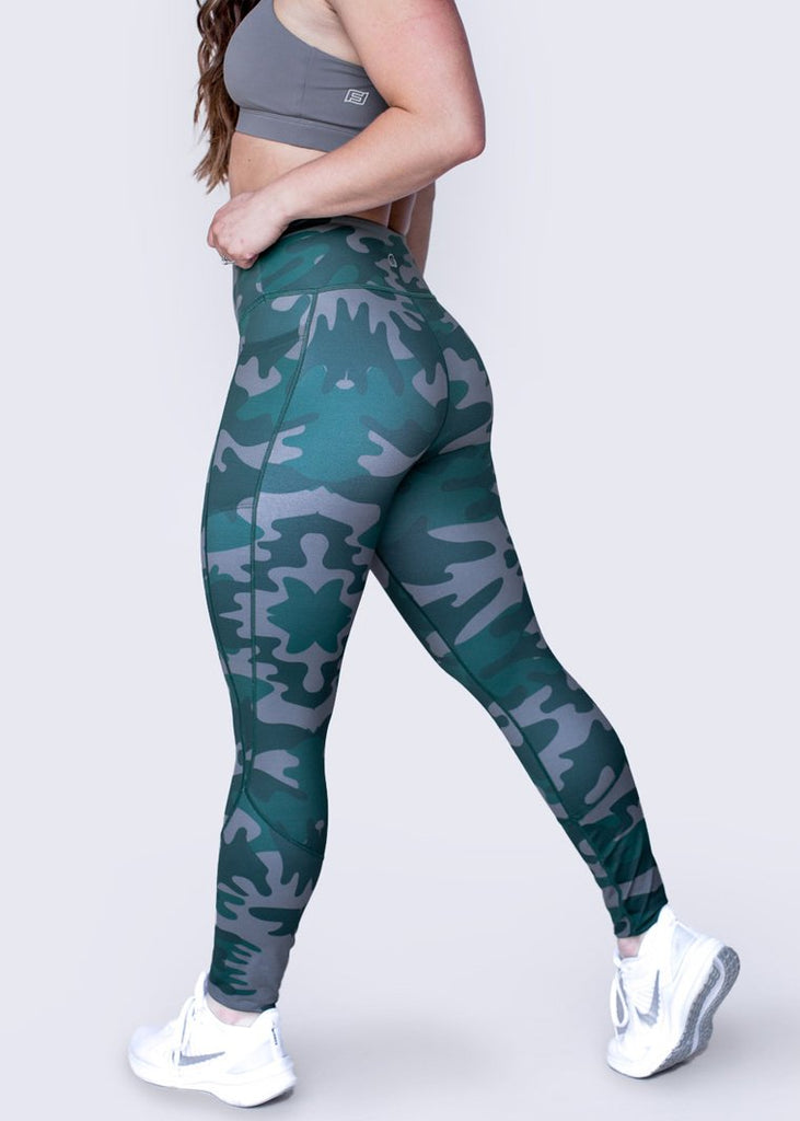 "Feed Me Fight Me ""Can't see me"" Mid-Rise Leggings - 9 for 9"