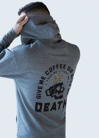 Feed Me Fight Me Classic Coffee Hoodie - 9 for 9