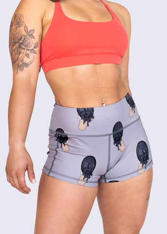 Feed Me Fight Me Women's Death By Iron Shorts - 9 for 9