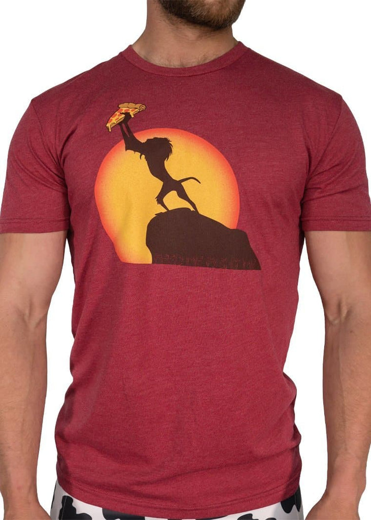 Feed Me Fight Me Men's Hakuna Ma Pizza T-shirt - 9 for 9