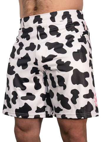 Feed Me Fight Me Men's Cow-Moo-Flage Shorts - 9 for 9
