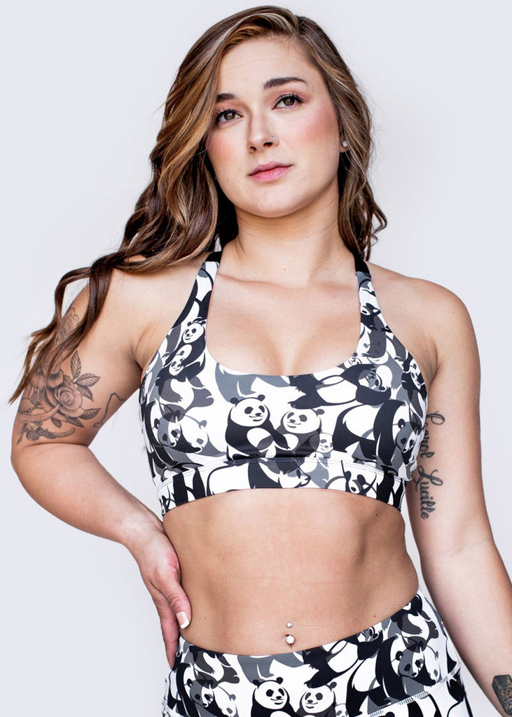 Feed Me Fight Me Pandamonium Sports Bra - 9 for 9