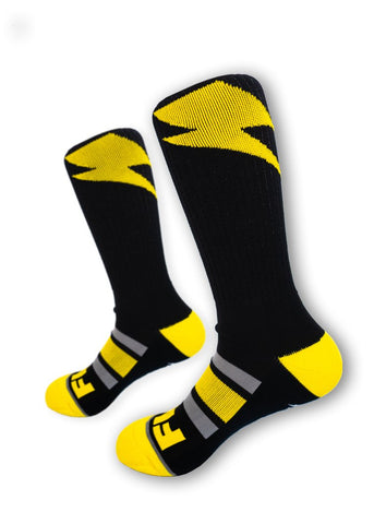 Feed Me Fight Me Turbo Time Crew Socks - 9 for 9