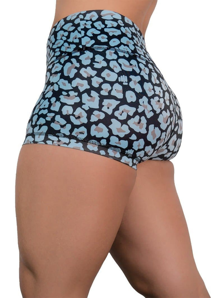 Feed Me Fight Me Women's Leopard-Licious Shorts - 9 for 9