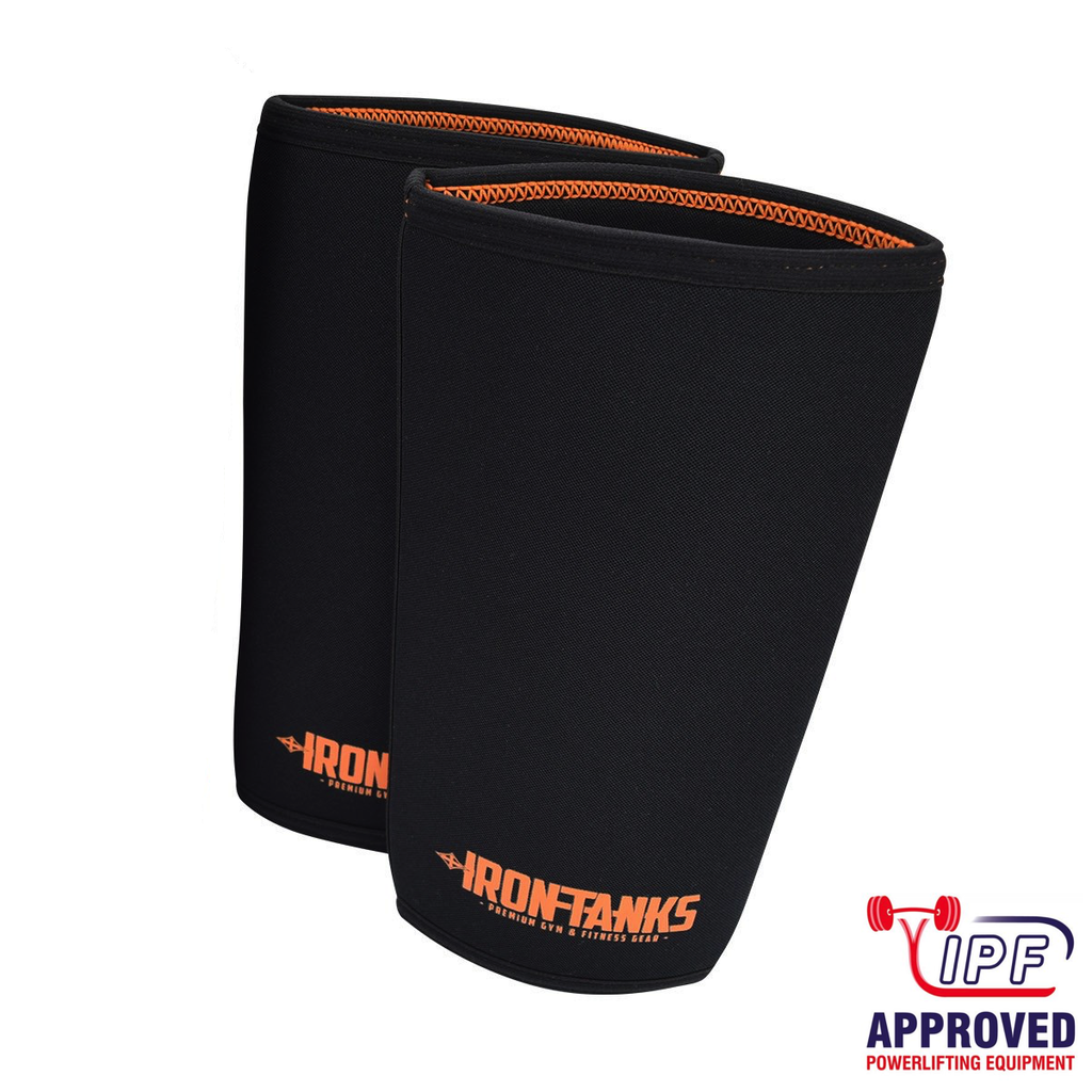 Iron Tanks 7mm Iron Knee Sleeves V2 - IPF APPROVED - 9 for 9