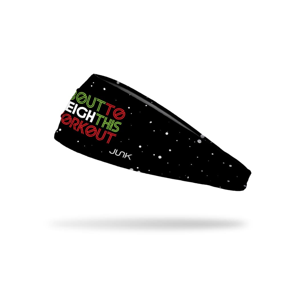 JUNK Sleigh This Workout Headband (Big Bang Lite) - 9 for 9