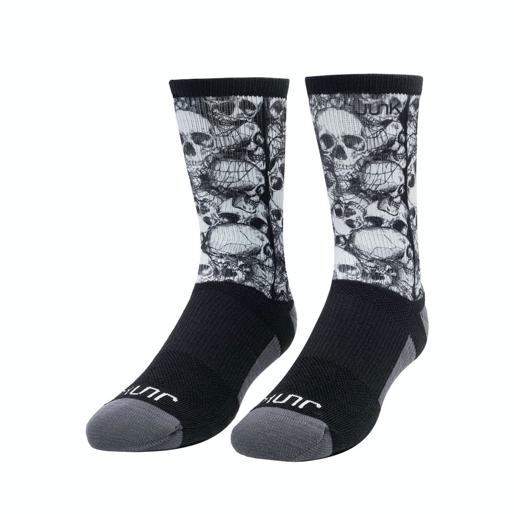 JUNK Graveyard Militia Athletic Crew Sock - 9 for 9