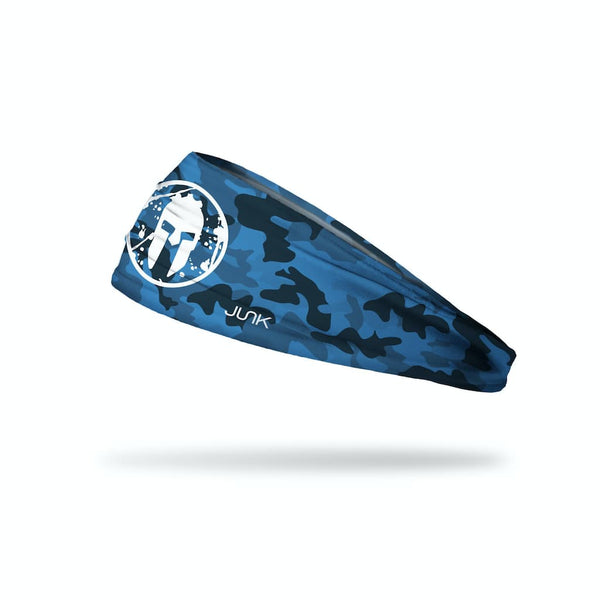 JUNK Spartan Blue Camo Headband (Big Bang Lite) - 9 for 9