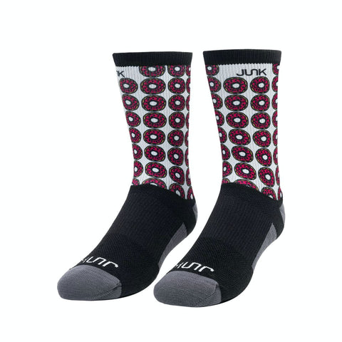 JUNK Champion's Breakfast Athletic Crew Sock - 9 for 9