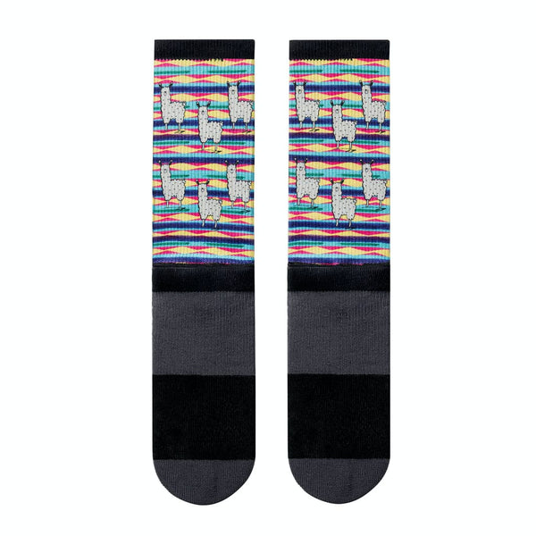 JUNK Llama Party Athletic Crew Sock - 9 for 9