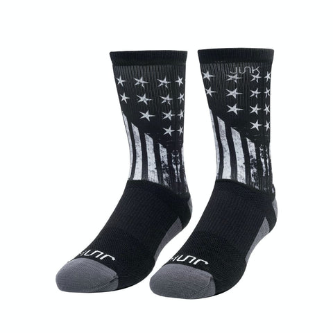 JUNK Shifting Force Athletic Crew Sock - 9 for 9