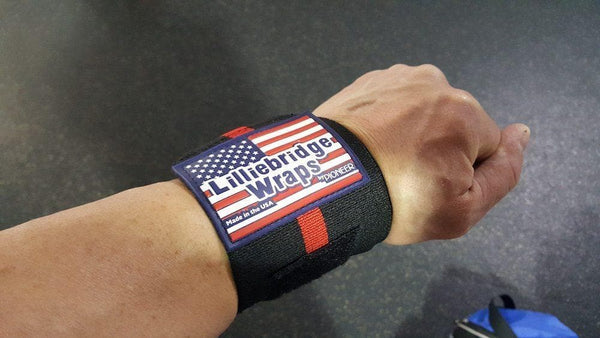 Lilliebridge Wrist Wraps by Pioneer Fitness