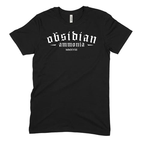 Obsidian Classic Logo Tee - 9 for 9