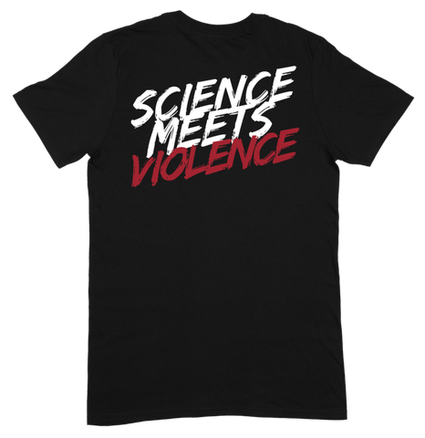 Obsidian SCIENCE MEETS VIOLENCE Tee - 9 for 9