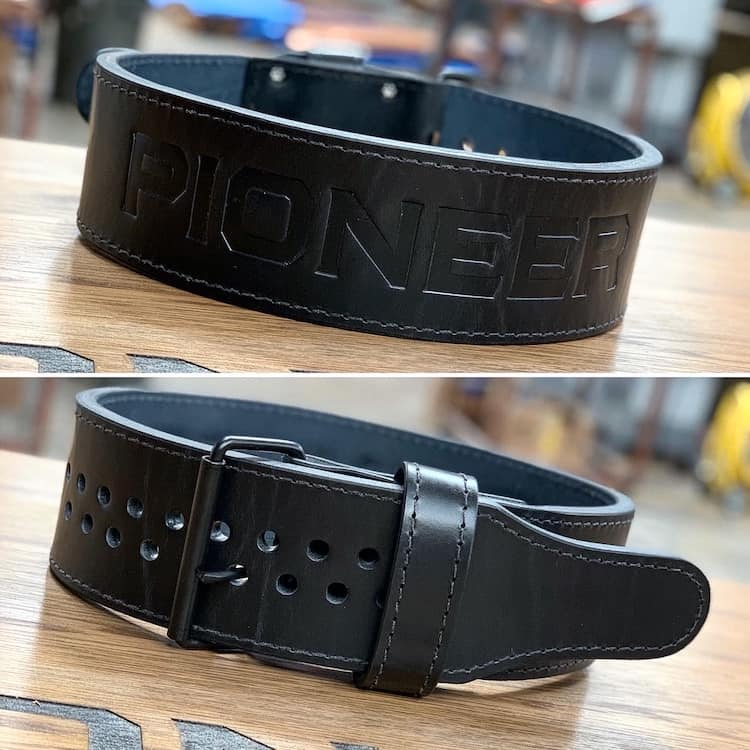 "Pioneer Cut™ ""Stock"" Powerlifting Belt – 13mm thick – 4"" wide - 9 for 9"