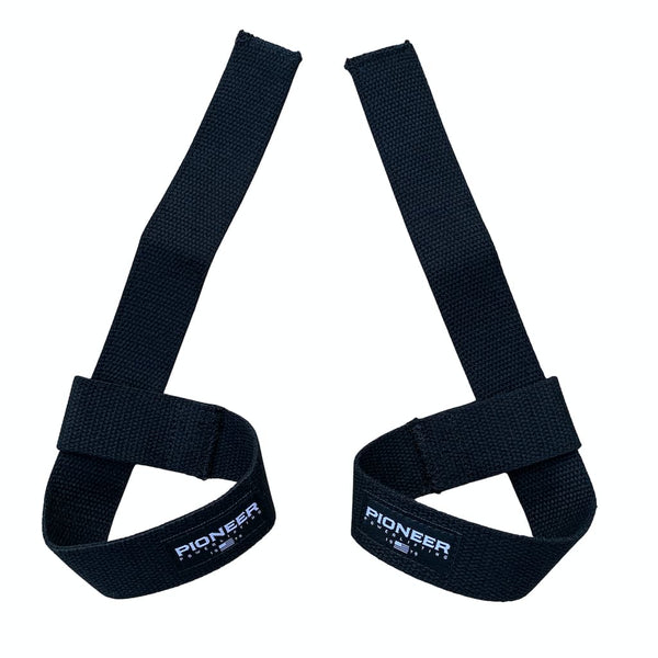 Pioneer Fitness Cotton Lasso / Adjustable Lifting Straps - 9 for 9