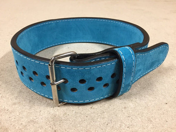 "Pioneer Cut™ – 13mm thick – 3"" wide – Powerlifting Belt (Single Colour Suede)"