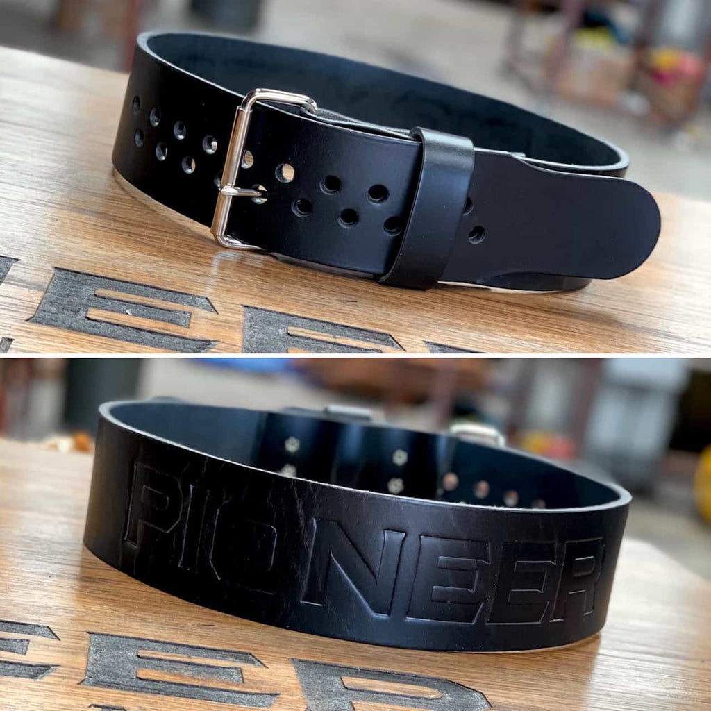 "Pioneer Cut™ ""Stock"" Belt – 6.5mm thick – 3"" wide - 9 for 9"