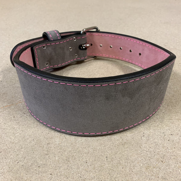 "Pioneer Fitness – 10mm thick – 4"" wide – Training Belt (Two Tone Suede)"