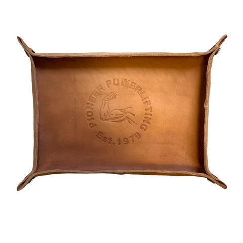 Pioneer Leather Valet Tray - 9 for 9