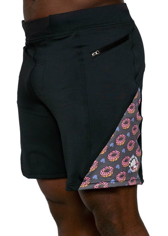 Feed Me Fight Me Men's Donut Dilemma Shorts - 9 for 9
