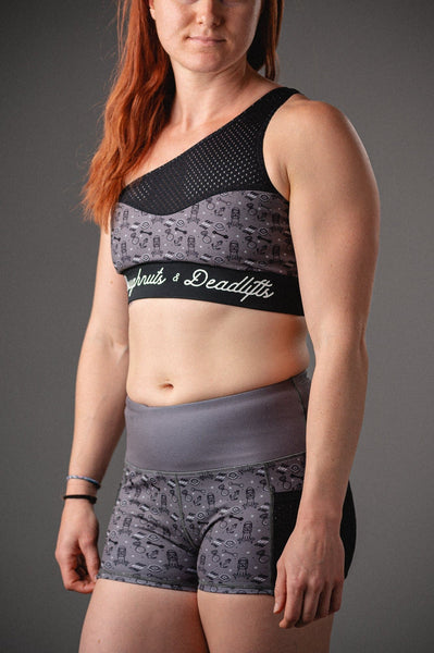 Doughnuts & Deadlifts EMPOWER Liberty Sports Bra (Sailor's Mouth) - 9 for 9