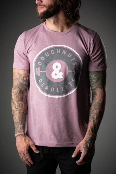 Doughnuts & Deadlifts SUMMER OG Tee (Dusty Rose) - 9 for 9