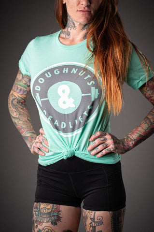 Doughnuts & Deadlifts SUMMER OG Tee (Minty Fresh) - 9 for 9