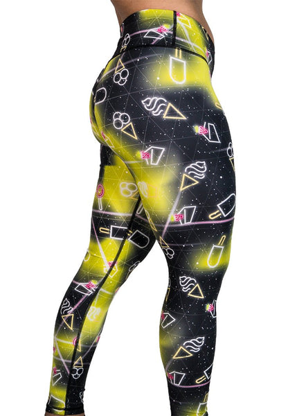 Feed Me Fight Me Galactic Snack Endurance Mid-Rise Leggings - 9 for 9