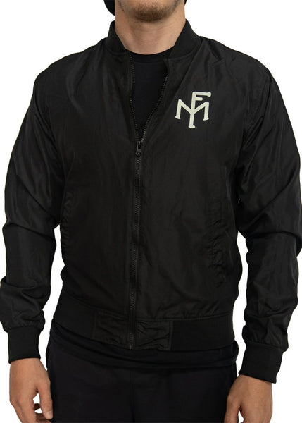 Feed Me Fight Me Brainstorm Bomber Jacket (Black) - 9 for 9