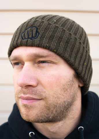 Feed Me Fight Me Broadway Beanie (OD Green) - 9 for 9