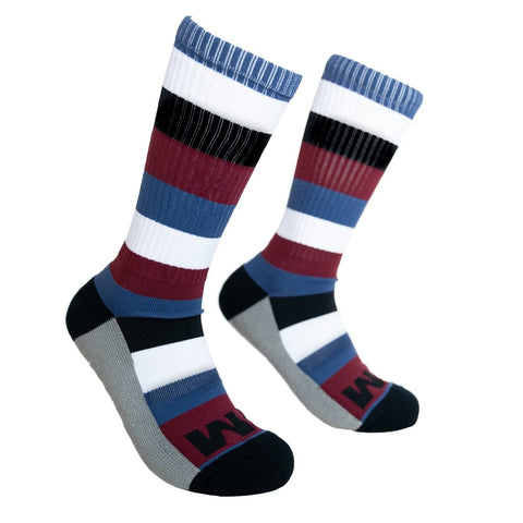 Feed Me Fight Me Burnside Crew Socks - 9 for 9