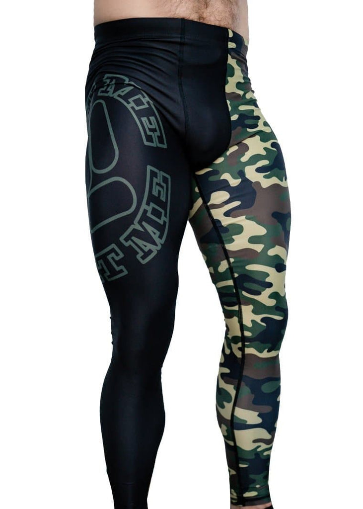 Feed Me Fight Me Men's Camo Endurance Compressions - 9 for 9