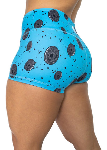 Feed Me Fight Me Women's Double Stuffed Snack Shorts - 9 for 9