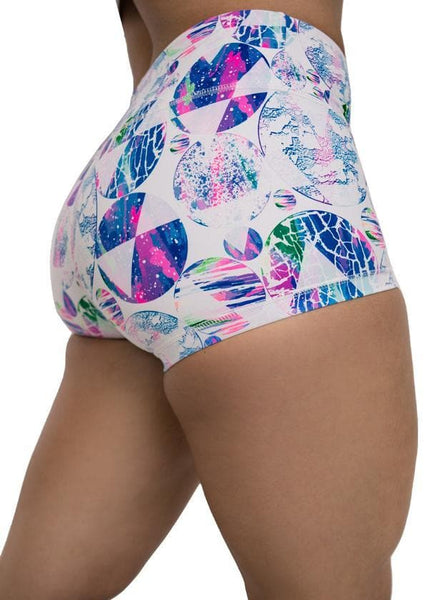 Feed Me Fight Me Women's Cosmic Rift Shorts - 9 for 9