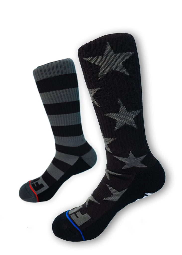 Feed Me Fight Me Defender Crew Socks - 9 for 9
