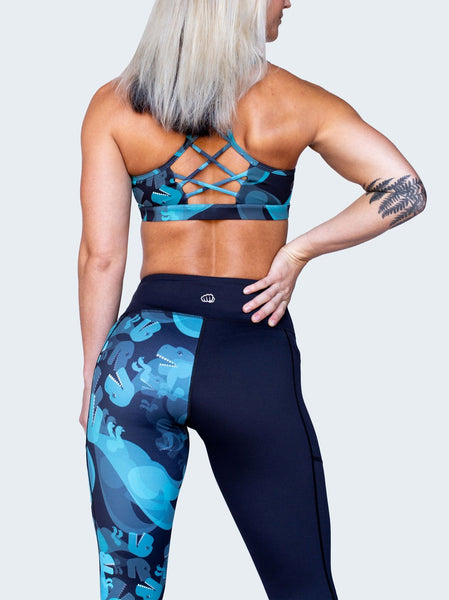 Feed Me Fight Me Dino-might Mid-Rise Leggings v2 - 9 for 9
