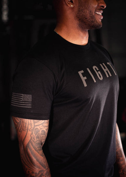 Feed Me Fight Me Nightfall Fight Tee - 9 for 9