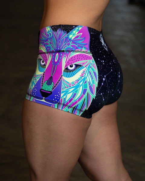 Feed Me Fight Me Women's HalfWolf Shorts - 9 for 9