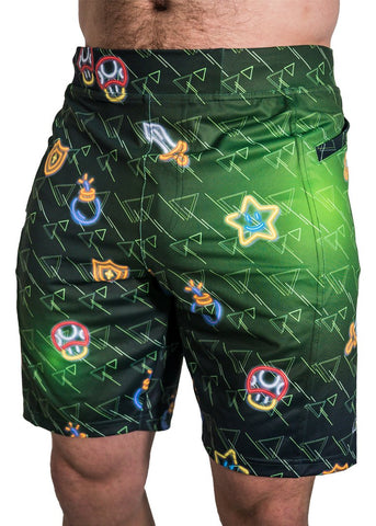 Feed Me Fight Me Men's Level Up Shorts - 9 for 9