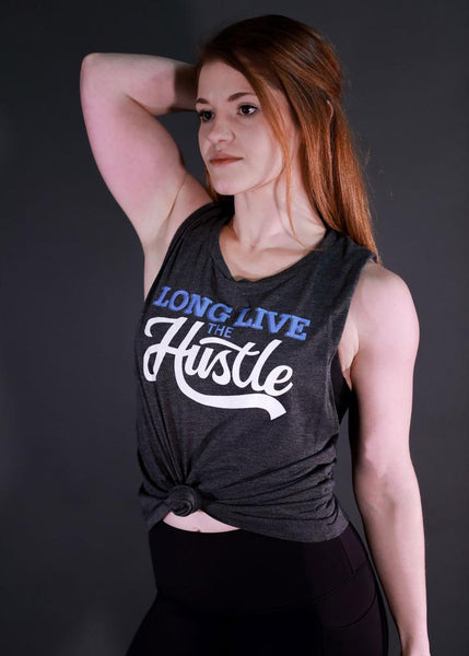 Feed Me Fight Me Women's Long Live The Hustle Tank - 9 for 9