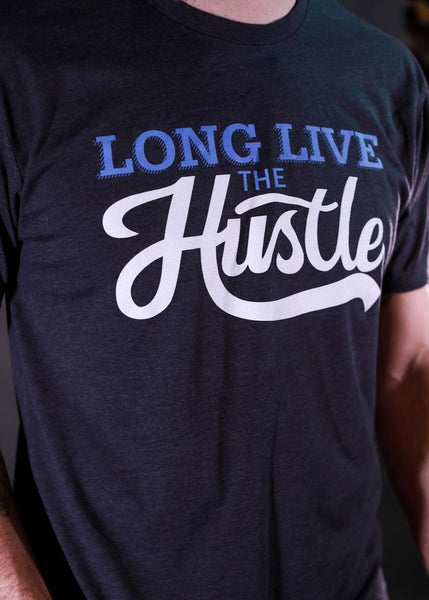 Feed Me Fight Me Long Live The Hustle Tee - 9 for 9