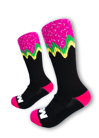 Feed Me Fight Me Melty Gains Crew Socks - 9 for 9