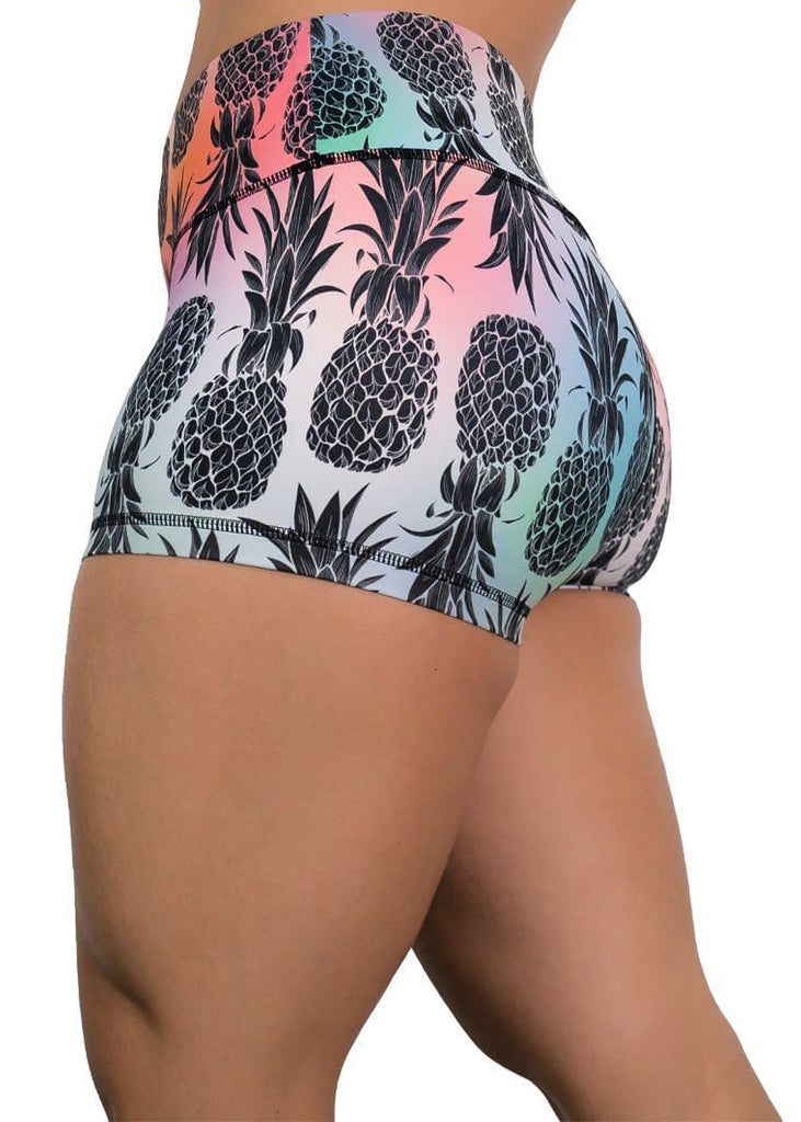 Feed Me Fight Me Women's Taste the Pineapple Shorts - 9 for 9