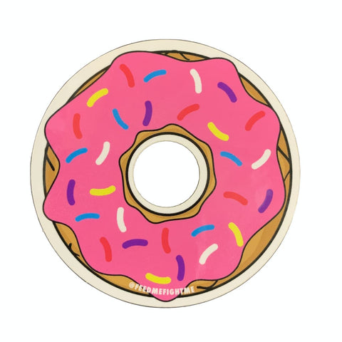 Feed Me Fight Me Donut Sticker - 9 for 9