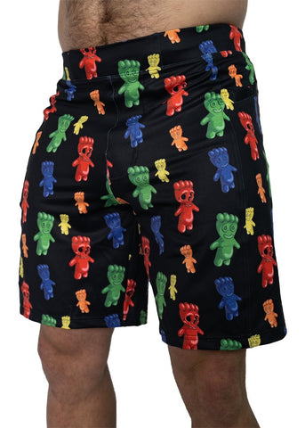 Feed Me Fight Me Men's Scary Then Sweet Shorts - 9 for 9