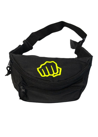 Feed Me Fight Me 'Snack Pack' Fanny Pack (Yellow) - 9 for 9