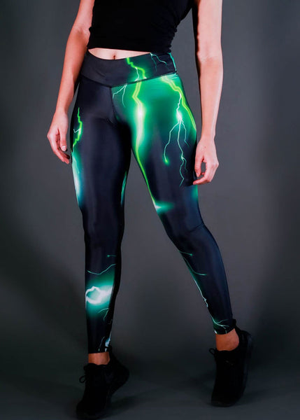 Feed Me Fight Me Storm's A-Brewin Mid-Rise Endurance Leggings - 9 for 9