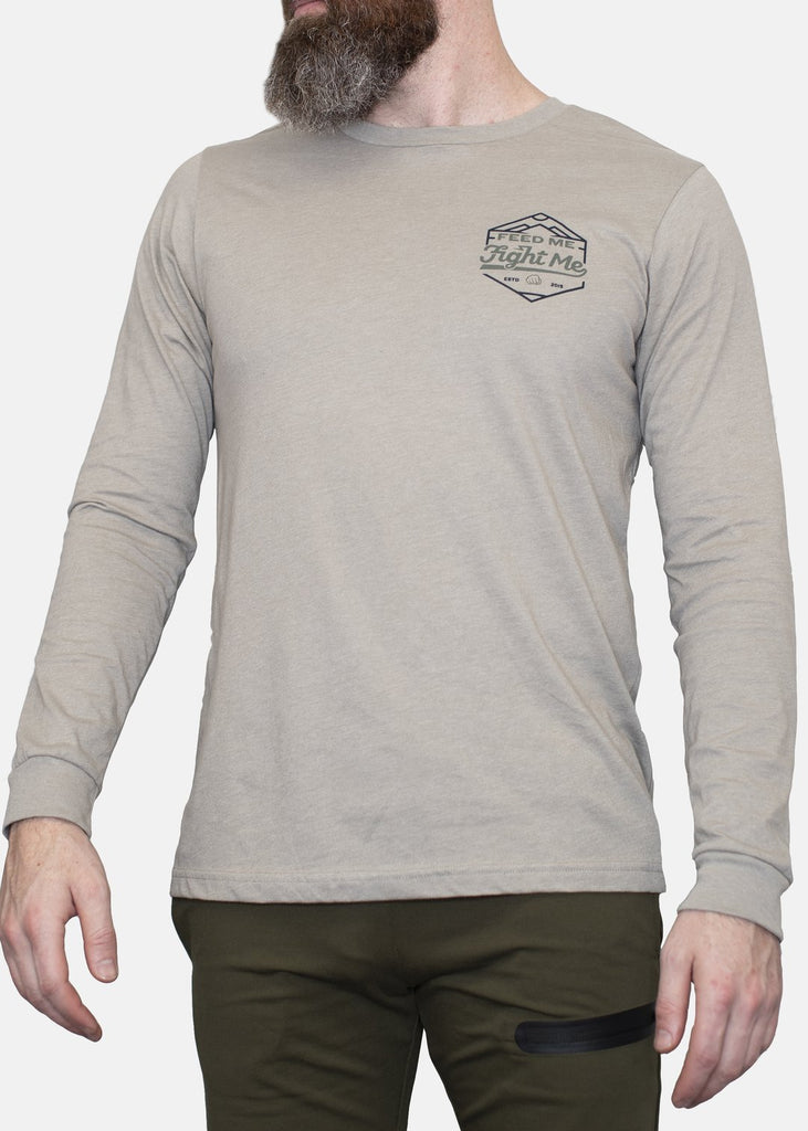 Feed Me Fight Me Trek Long Sleeve Tee - 9 for 9